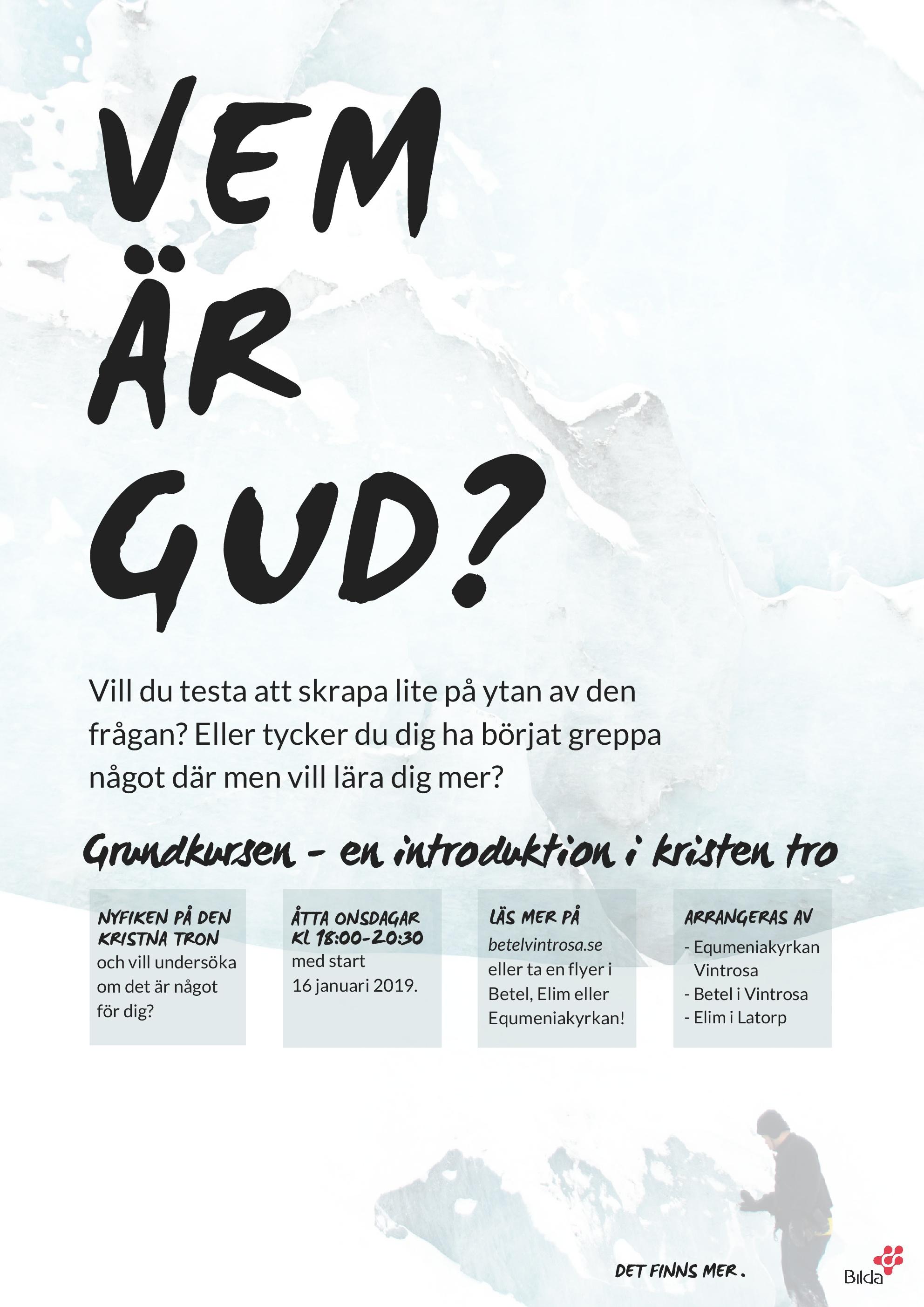 Affisch grundkurs